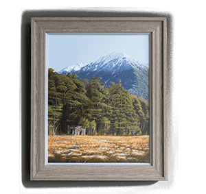Canvas framed thumb