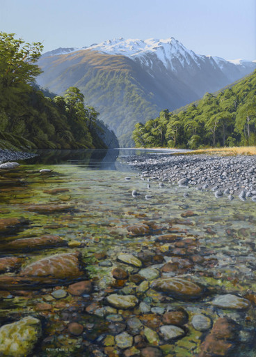 The Haast River