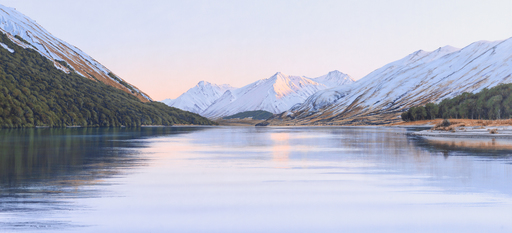 Winter Morning - North Mavora Lake